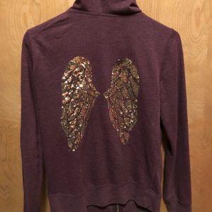 Victoria secret zip up hoodie